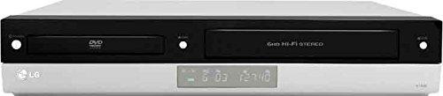 LG V-192 H DVD-Player/VHS-Rekorder Kombination (HDMI, Upscaler 1080i, 3D Surround Sound) Silber