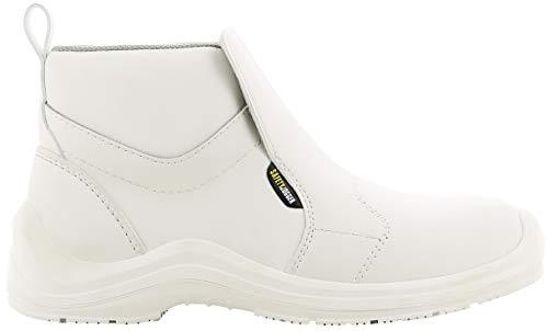 Cortina Safety Jogger Sicherheitsschuhe für die Gastronomie Lungo S3 SRC (39 EU, weiß)