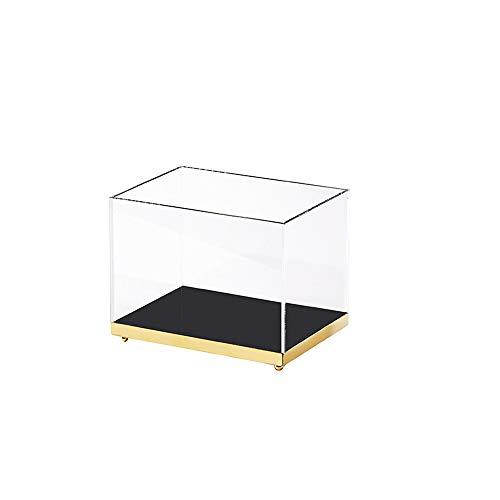 Kcakek Cosmetische Storage Box Desktop Bookshelf kaptafel Lipstick Box Make-up kabinet Transparante Cosmetische Storage Box Skin Care Desktop Organizer Store Lippenstift en Skincare (Size : Small)