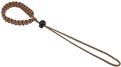 Multifunctionele pols anti-verloren anti-drop camera Lanyard, paraplu touw, gevlochten tentoonstelling touw (bruin)