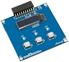ATMEL ATOLED1-XPRO EXTENSION BOARD, OLED, XPLAINED PRO EVAL BOARD