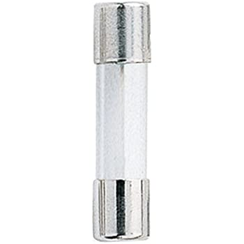 Bussmann GMA-5A 5 Amp Glass Fast Acting Cartridge Fuse 125V UL Listed 5-Pack