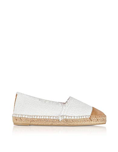 Luxury Fashion | Castaner Dames 021123200 Wit Leer Espadrilles | Seizoen Outlet