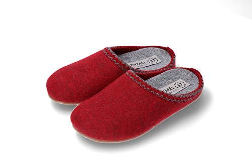 SZYMEL   Damen Wollfilz Hausschuhe   Handgemacht in EU   Komfort Design und Qualität   Größen: 36-41