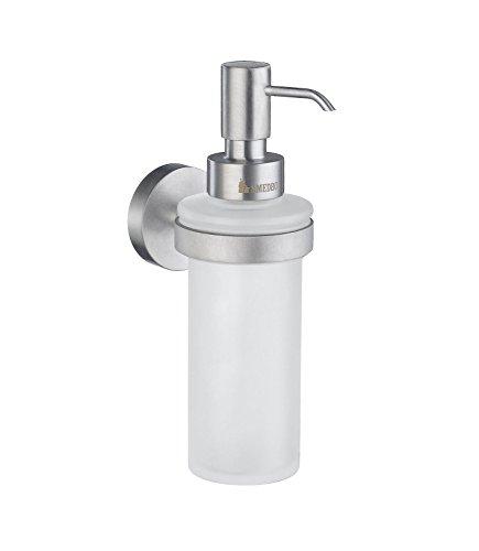 SMEDBO Soap Dispenser Wallmount, Brushed Chrome HS369 Seifenspender, 6.2 x 9.5 x 23.5 cm