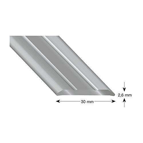 Kogels 301 B 100 afdekprofiel aluminium brons geanodiseerd 30/1000 mm