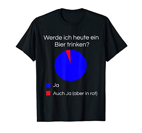 Lustiges Bier Shirt I Alkohol Trinken Party Fest Wein T-Shirt