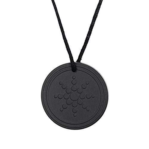Fransande New Anti Radiation Shield EMF Negative Ion Balance Energy Necklace Pendant