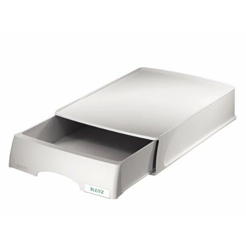 Leitz Plus Briefkorb-Schublade, A4, Grau, 52100085