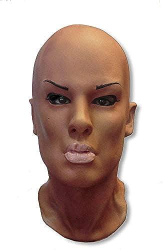 Horror-Shop Whitney Frauenmaske aus Schaumlatex