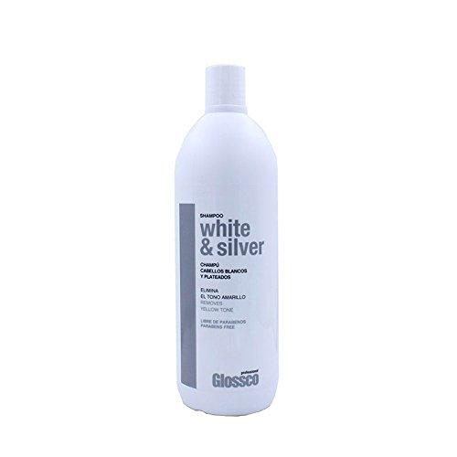 Glossco - Champú Cabellos Blancos y Plateados, 1000ml
