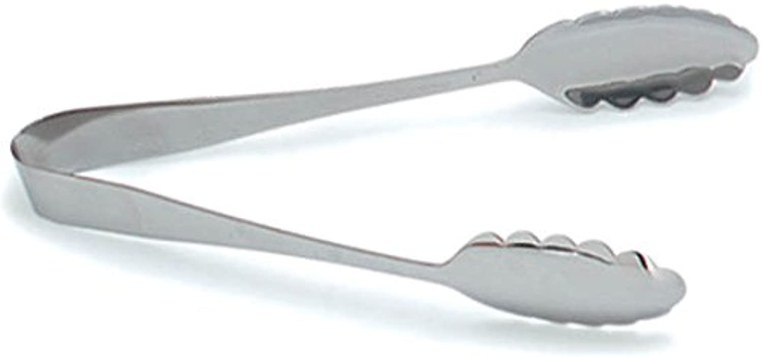 Carlisle 607683 Stainless Steel Scalloped Serving Tong, 10-1 2  (Pack of 12)