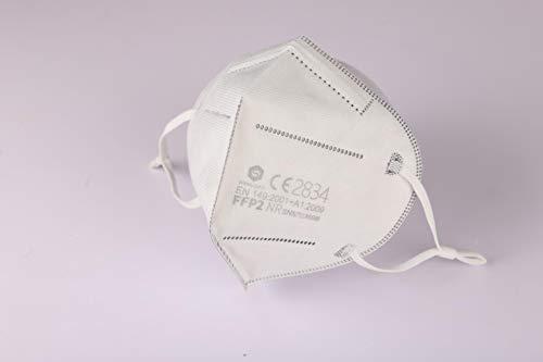 Shengquan 40 Stück - FFP2 Maske, Atemschutzmaske, CE2834