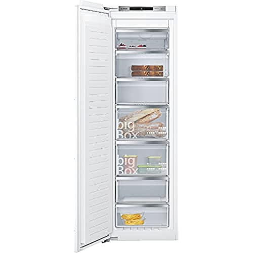 Siemens GI81NAC30 Integrado Vertical 211L A++ Blanco - Congelador (Vertical, 211 L, 20 kg/24h, SN-T, Sistema de descongelado, A++)