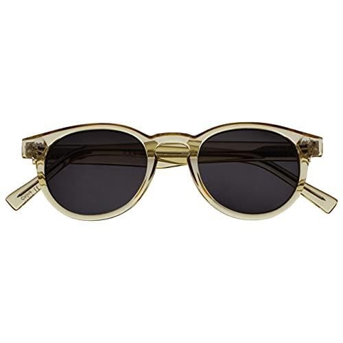 The Reading Glasses Company Rox Super Elegante Oro Trasparente Donna Lettori Sole Occhiali Da Lettura Uv400 Cerniere Metalloliche Il Giro S89-9 +3,50 - 50 Gr