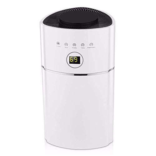 For Sale! JINHH Air Dehumidifier, 2.4L Capacity Digital Anion UV Low Energy Air Purify Filter Cooler...