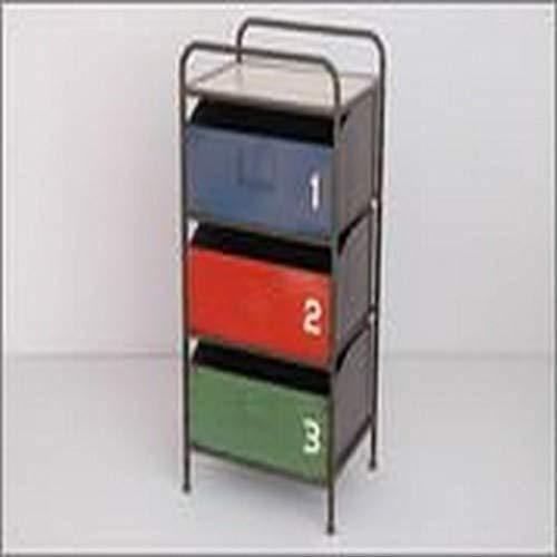 sukima Decor Chiffres Table, métal, Multicolore, 43 x 33 x 81 CM