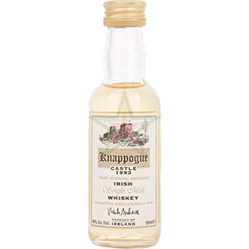 Knappogue Castle VERY SPECIAL RESERVE Irish Single Malt Whiskey 1993 40,00% 0,05 Liter
