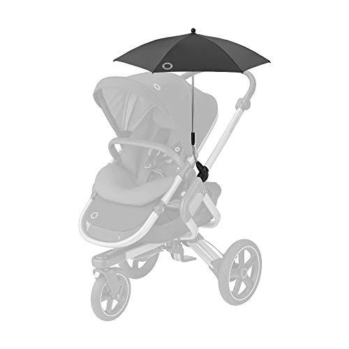 Bébé Confort - Sombrilla parasol para cochecito, protección UV 50+, flexible e inclinable, color negro