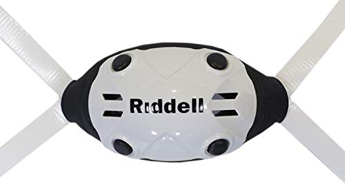 Green Gridiron Riddell White Large/X-Large TCP Chinstrap