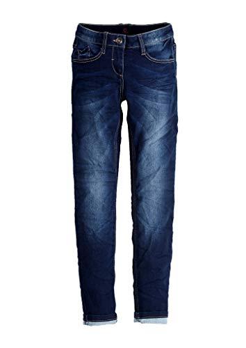 s.Oliver Mädchen 76.899.71 Slim Fit: Skinny Leg elastischer Qualität, Blau (Blue Denim Stretch 57z5), 164/REG