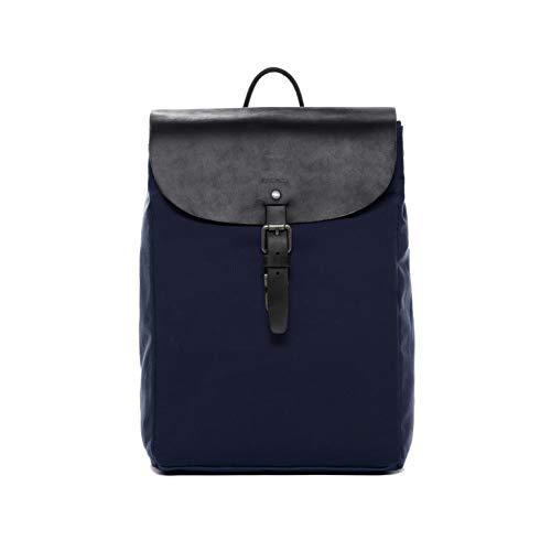FEYNSINN® Mochila Hanne Backpack morral Bolso de Hombro Piel Azul