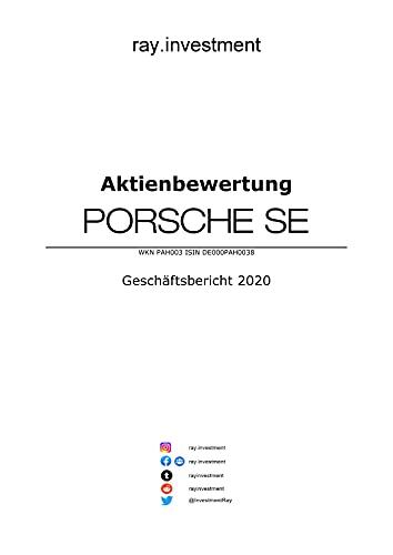 Aktienbewertung Porsche SE: Stand Geschäftsbericht 2020