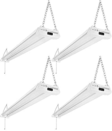 Leonlight 4ft Linkable LED Motion Activated Utility Shop Light