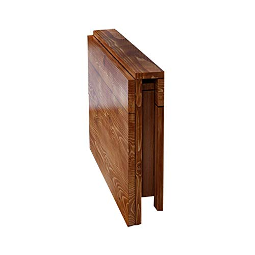 Vibrerende schrijftafel/opbergtafel/wandtafel/laptopstaander/bureau/klaptafel/salontafel/ruimtebesparend/massief hout / 13 maten (kleur: A 80X60cm Een