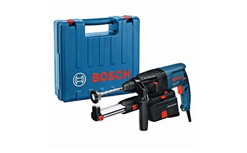 Bosch Professional Bohrhammer GBH 2-23 REA (inkl. Absaugung - integriert und abnehmbar- , Zusatzhandgriff, im Koffer)
