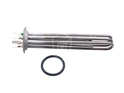 Meiko Radiador 3000W 230V para lavavajillas con 2mittigen Termostato casquillos Longitud 220mm Ancho 30mm Altura 30Mm Diámetro De 47,5mm Métrica con 3Círculos de calor de montaje