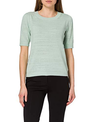ESPRIT Damen 031EE1I314 Pullover, 390/LIGHT Aqua Green, S