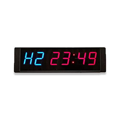 DNHRC Dígitos LED Reloj de Cuenta Regresiva Temporizador de Cuenta Regresiva Minutos Segundos Temporizador de Cuenta Regresiva con Control Remoto Visualización de número