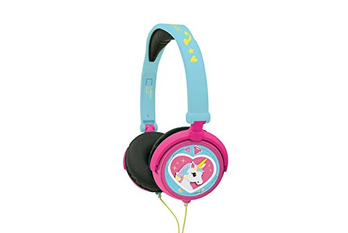 Lexibook HP017UNI Kopfhörer Stereo Einhorn, Rosa