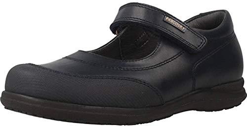 PABLOSKY 328220 Zapato PABLOSKY Piel NIÑA Zapato COLEGIAL Azul 36