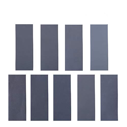 Schleifpapier Set, 36 Stück 400 to 3000 Grit Schleifpapier Sortiment Trocken/Nass Für Automobilschleifen Holzbearbeitung und Holzdrehen