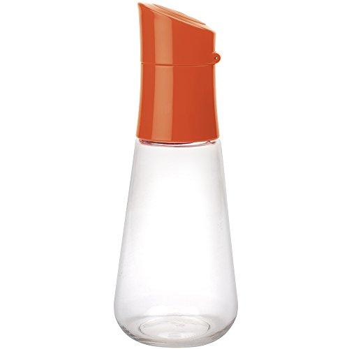 Zak Designs 1110-P670 Flacon verseur pour sauces 30 cl Corail/Transparent