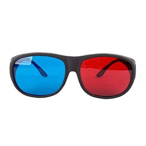 Hiinice Rojo-Azul Cian Gafas 3D Anaglifo Estilo Simple Gafas 3D Estéreo Juego De La Película Extra-Estilo De La Mejora De Artículos Hombres Mujeres Personales