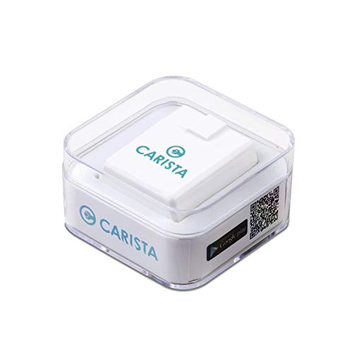 Carista OBD2 Bluetooth Adapter, Scanner and App for iOS and...