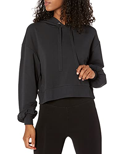 The Drop Women's Mayla Supersoft Stretch Cropped Hoodie