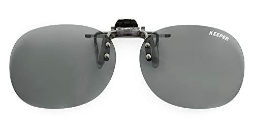 クリップオン 跳ね上げ式 サングラス CLIP ON KEEPER(クリップオンキーパー)メガネが度数付サングラスに!