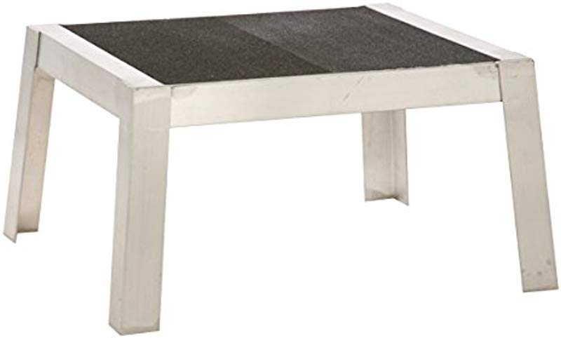 Prairie View Ind Food Service XDR2024 12 Platform Step Stool With Traction Tape 24 Width X 12 Height X 20 Length