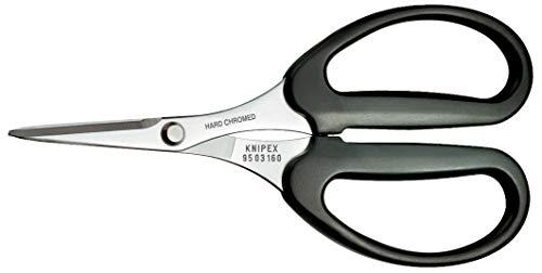 KNIPEX 95 03 160 SB Schere für Fasern aus KEVLAR® mit Kunststoff umspritzt 160 mm (in SB-Verpackung)