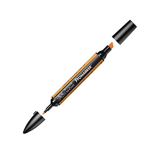 Winsor & Newton ' ProMarker ' 0203357 - Professioneller Layoutmarker - 2 Spitzen, fein & breit für Zeichnungen, Design & Layouts - Honigwabe