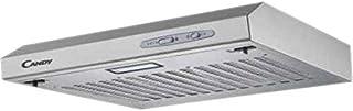 Candy CFT610/5S Campana 60 cm ancho, 3 niveles de potencia, capacidad extracción 208 m3/h, iluminación LED, 87.5 W, 55/71 ...