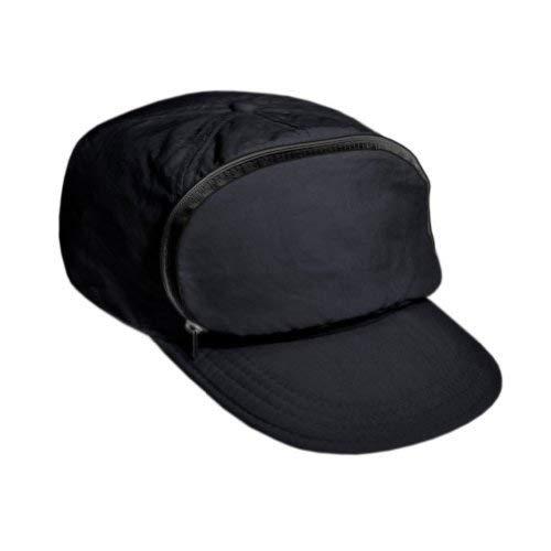 Fanny Pack hat | 80s/90s Nylon Cap for Men & Women | Zipper Pocket & Adjustable