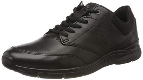 Ecco Herren Irving Sneaker, Schwarz (Black/Black 51052), 47 EU