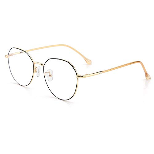 VDSON zonnebril retro groot frame ogen anti-blauw rekenmachine licht spiegel fotoblokkerend vermoeidheid van de ogen