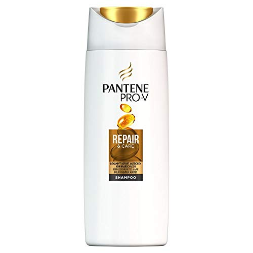 Pantene Pro-V Repair & Care Shampoo Für Geschädigtes Haar, 90ml, Haarpflege Trockenes Haar, Shampoo Damen, Haarpflege Für Trockene Haare, Haarpflege Glanz, Ohne Silikon, Beauty