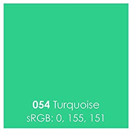 Oracal 651 Glossy Permanent Vinyl 12 Inch x 6 Feet – Turquoise